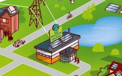 Film d'animation pour GEG : Le réseau intelligent