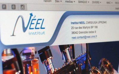 Création du site Internet Spip pour L'institut Néel CNRS/UJF