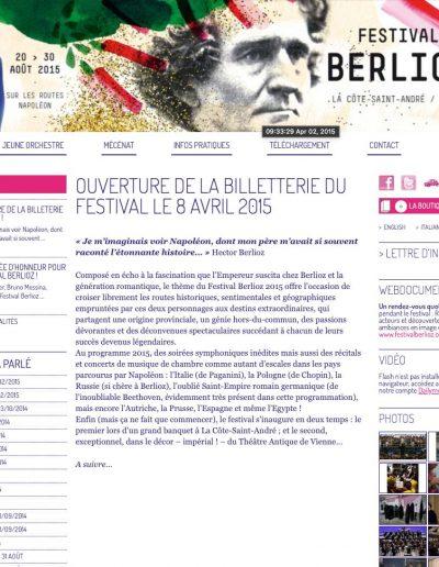 Berlioz 2015