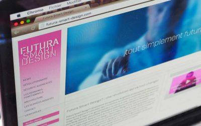 Création du site Futura Smart Design