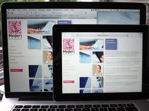 création du site Internet Médéri Santé