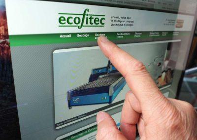 Création du logo et du site Ecofitec