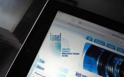 Création du site Internet avec SPIP pour Lanef Grenoble