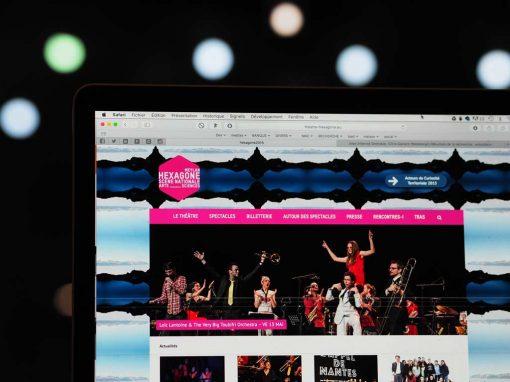 Création du site Internet de l'Hexagone Meylan