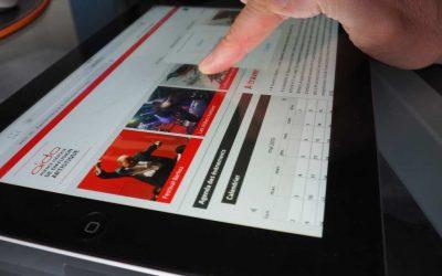 Création du site Internet de l'AIDA – Agence Iséroise de diffusion