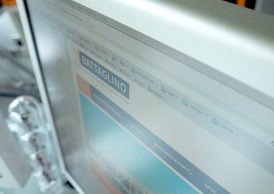 Refonte du site de l'entreprise Battaglino