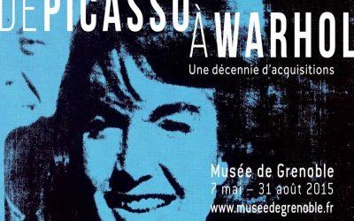 Réalisation d'une vidéo de présentation pour l'exposition De Picasso à Warhol au musée de Grenoble