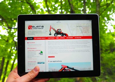 Création du site Internet de la société Eliatis à Moirans