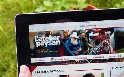 Création du site Internet de L'atelier paysan