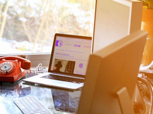 Création d'un site WordPress L'atelline