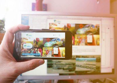 Création du site Internet pour la start-up HidnSeek à Meylan