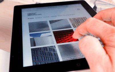 Refonte du site Hérault Arnod Architectes Paris
