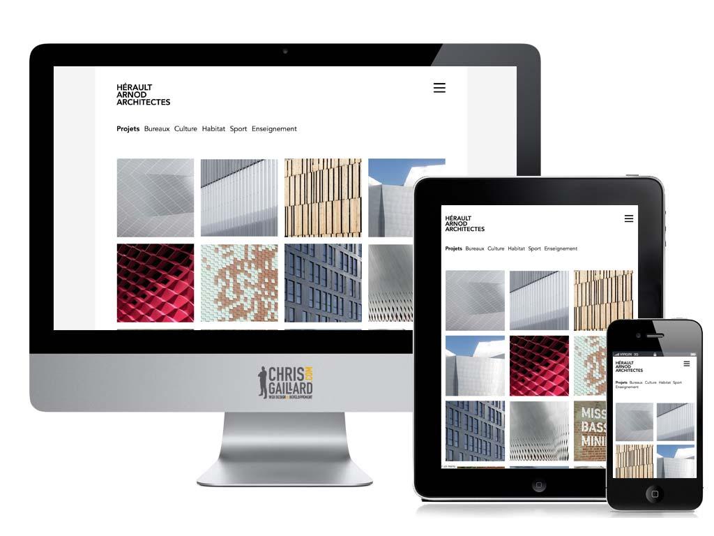 Webdesign architecte Paris