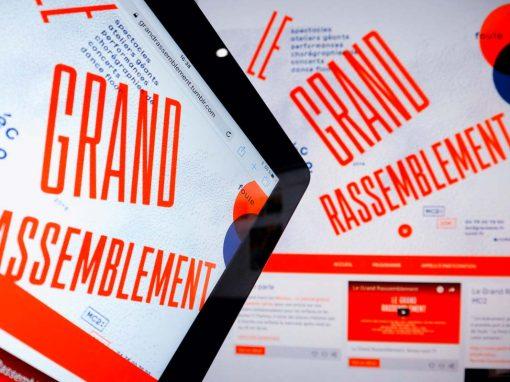 Création d'un site sur Tumblr pour Le Grand rassemblement à Grenoble