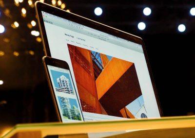 Création du site Macary Page Architectes à Grenoble