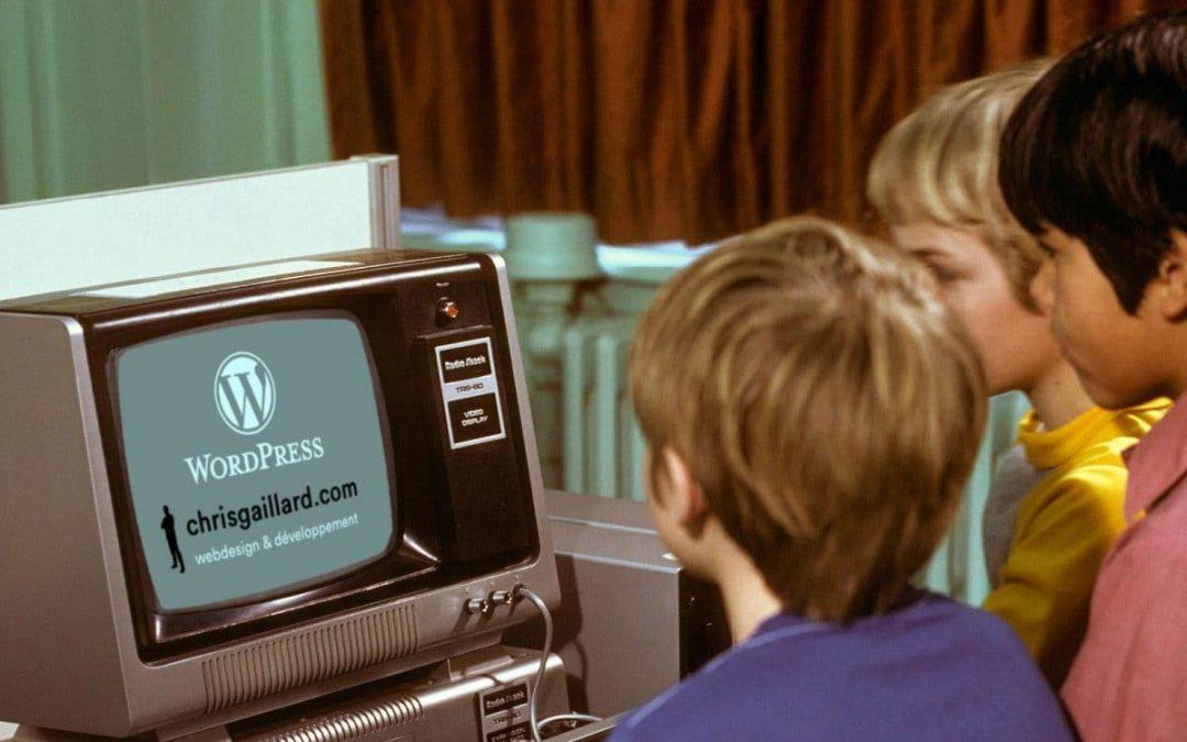 Formateur WordPress chez Youstudio