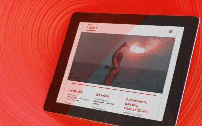 Création du site Internet CCN2 Grenoble