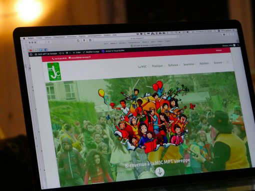 Création du site Internet de la MJC MPT Voreppe