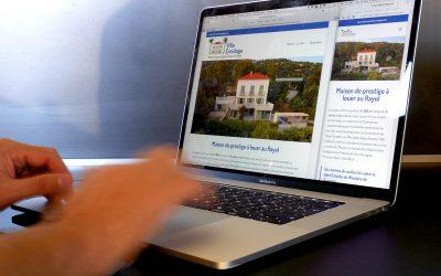 Création du site de réservation pour la Villa Ermitage