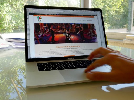 Refonte complète du site web de la MJC Bulles d'Hères