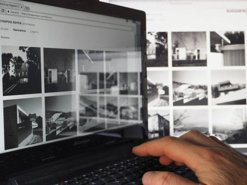 Création du site Internet Chapuis Royer Architectes à Grenoble