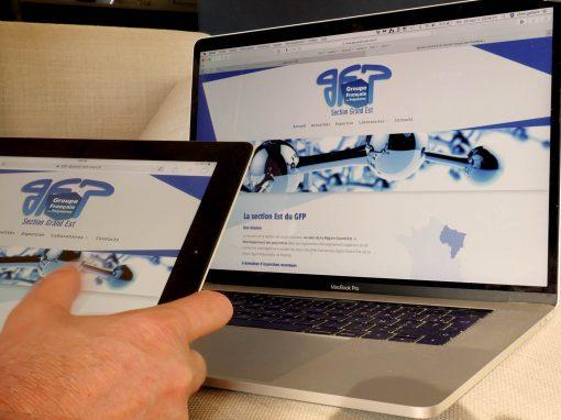 Création du site Internet de La section Est du GFP