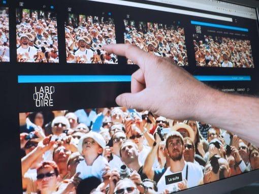 Création du site Internet Le Laboratoire Grenoble