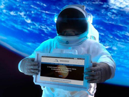 Refonte du site de Observatoire des Sciences de l'Univers de Grenoble
