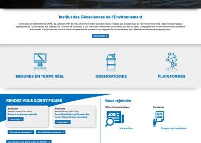 Creation du site Internet LGE
