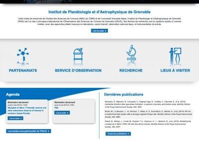 Ipag création du site Web