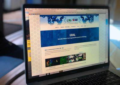 Nouvelle version du site Internet du Labex-Gral avec le CEA de Grenoble