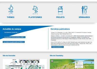Webdesign labo scientifique Leca Grenoble