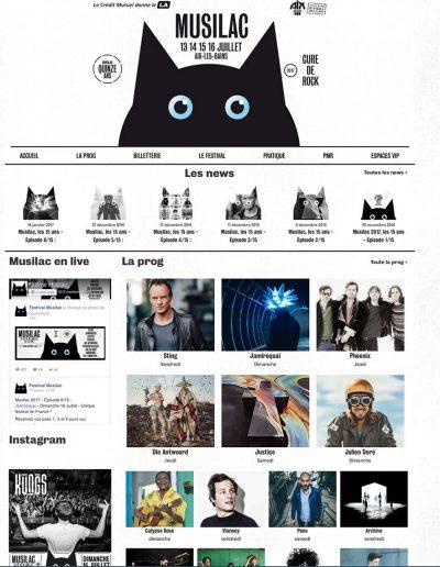 Musilac Webdesign 2017