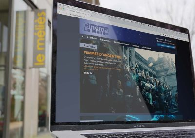 Création d'un site web pour le Cinéma le Méliès à Grenoble
