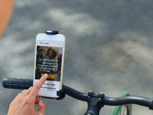 Création du site Internet de la  start-up eBikeLabs à Grenoble