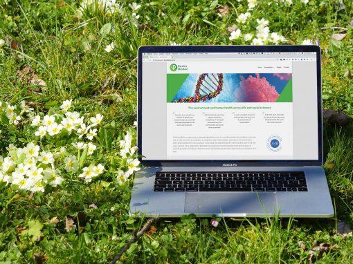 Création de l'identité graphique et du site Internet EnviroBioSoc projet de l'ANR avec l'Université Panthéon-Sorbonne et le CNRS