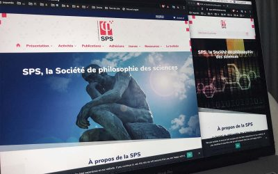 Création du site Internet de la Société de philosophie des sciences