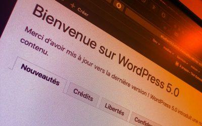 Prestataire à Grenoble pour une mise à jour vers WordPress 5