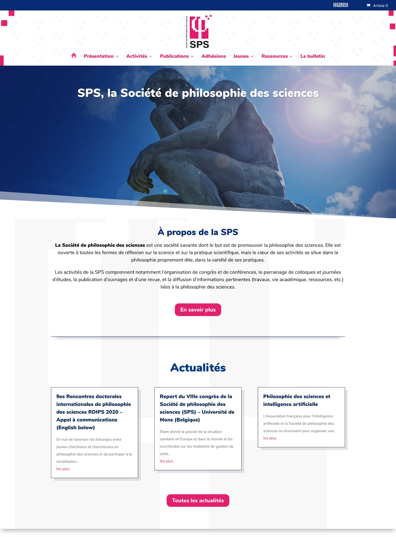 SPS wordpress woocommerce grenoble