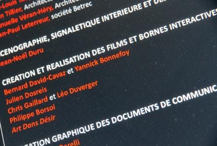 Création de bornes interactives Chris Gaillard Grenoble