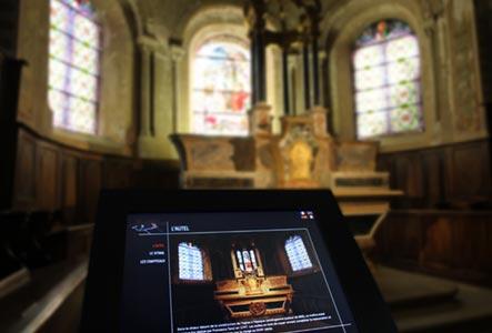 Création de bornes interactives musée