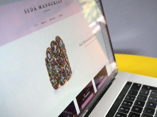Création d'une boutique en ligne de bijoux haut de gamme