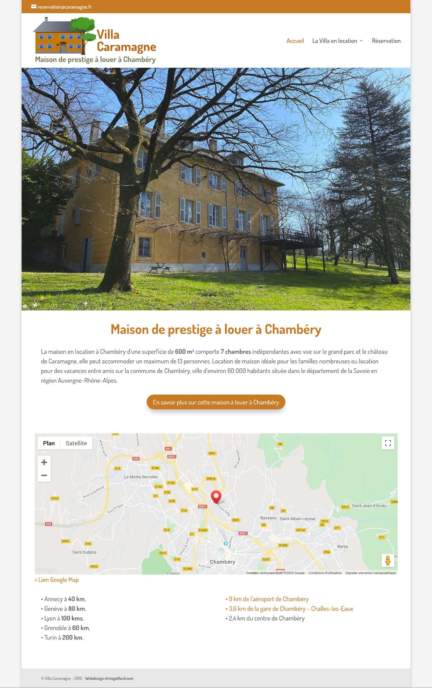 Webdesign caramagne