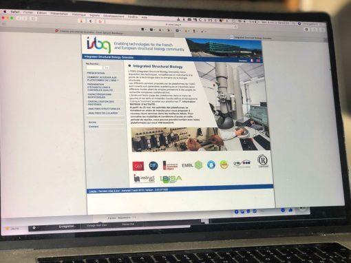 Création du site Internet de l'ISBG à Grenoble