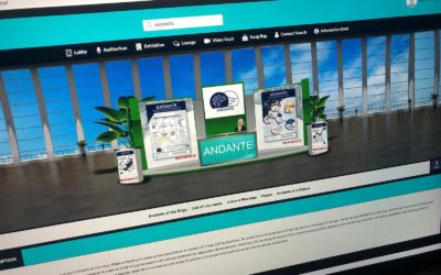 Production de contenu pour un stand sur un salon virtuel en ligne