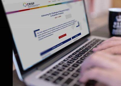 Création du site Internet du CRISP, projet de recherche sur l'intégrité scientifique