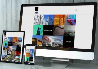 Fusion de 2 sites Internet en un seul pour des architectes et des designers