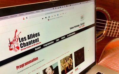 Refonte du site Internet du festival Les Allées Chantent à Grenoble