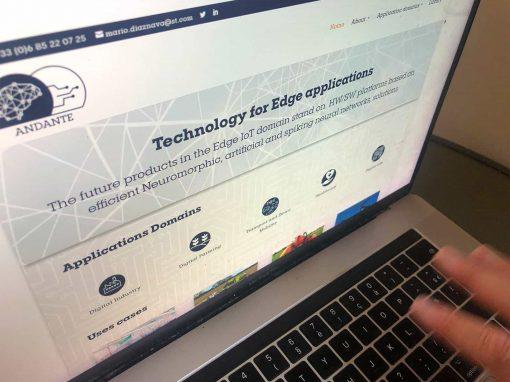 Création du site Internet pour Andante avec WordPress